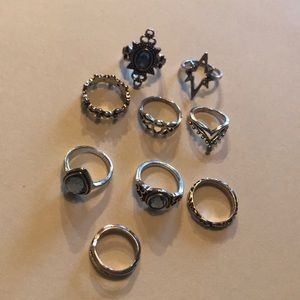 9 gorgeous rings (COME TOGETHER)